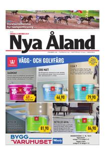 Nya Åland – 23 oktober 2019