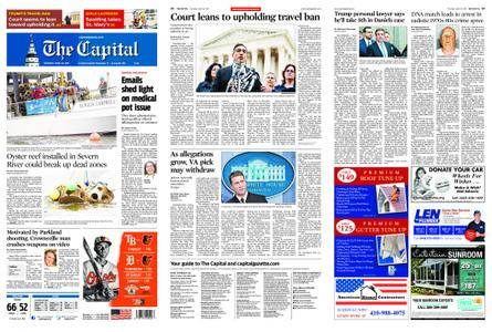 The Capital – April 26, 2018