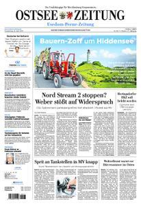 Ostsee Zeitung Wolgast - 25. April 2019