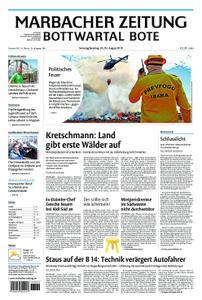 Marbacher Zeitung - 24. August 2019
