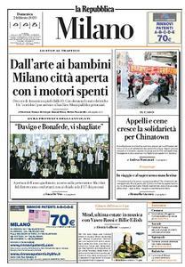 la Repubblica Milano - 2 Febbraio 2020