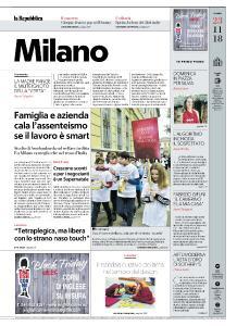 la Repubblica Milano - 23 Novembre 2018