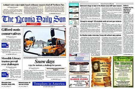 The Laconia Daily Sun – March 15, 2018