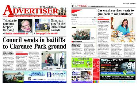 The Herts Advertiser – March 15, 2018