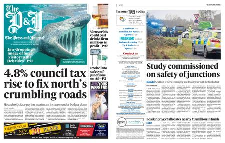 The Press and Journal Moray – February 27, 2020
