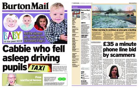 Burton Mail – January 30, 2019