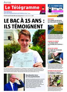 Le Télégramme Auray – 05 juillet 2019