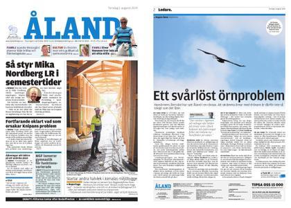 Ålandstidningen – 01 augusti 2019