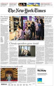 International New York Times - 4 October 2019