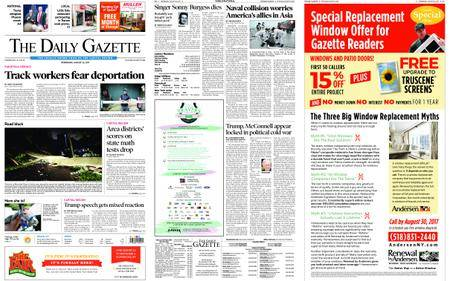 The Daily Gazette – August 23, 2017