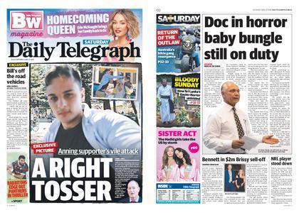 The Daily Telegraph (Sydney) – April 27, 2019