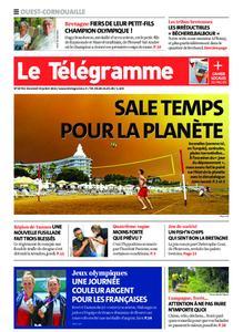 Le Télégramme Ouest Cornouaille – 30 juillet 2021