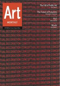 Art Monthly - September 2009   No 329