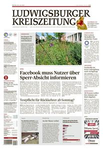 Ludwigsburger Kreiszeitung LKZ - 30 Juli 2021