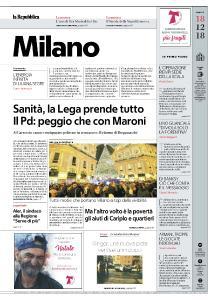la Repubblica Milano - 18 Dicembre 2018