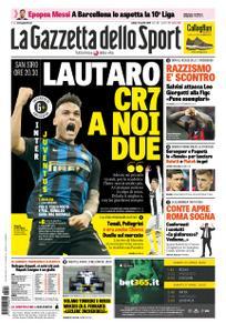 La Gazzetta dello Sport Roma – 27 aprile 2019
