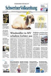 Schweriner Volkszeitung Hagenower Kreisblatt - 14. November 2017