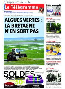 Le Télégramme Ouest Cornouaille – 07 juillet 2019
