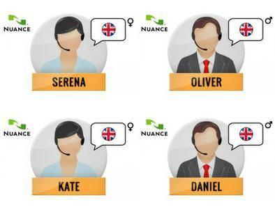 Nuance Vocalizer Expressive S2G + 4 British English Voices Premium
