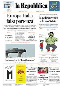 la Repubblica - 3 Agosto 2019