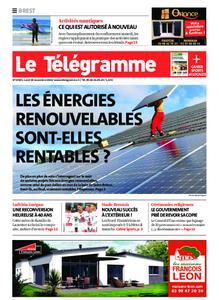 Le Télégramme Brest – 30 novembre 2020