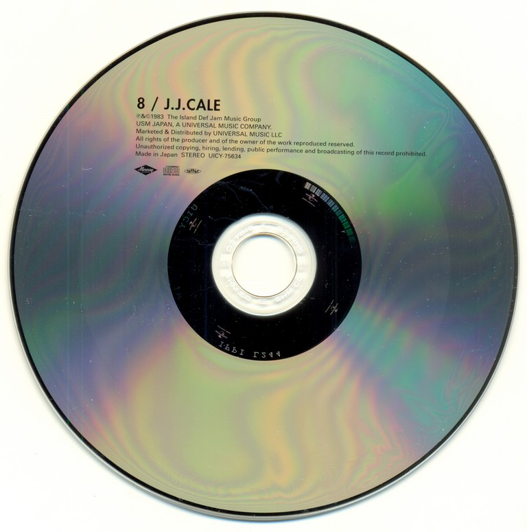 J.J. Cale - #8 (1983) {2013, Japanese Mini LP SHM-CD, Limited Edition, Remastered} Repost