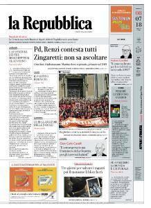 la Repubblica - 8 Luglio 2018