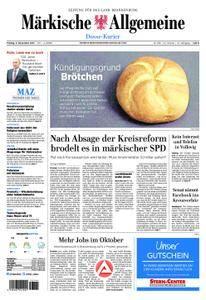 Märkische Allgemeine Dosse Kurier - 03. November 2017