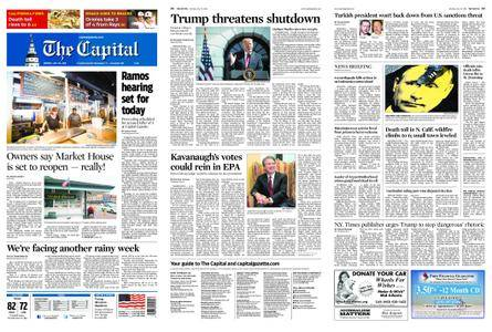 The Capital – July 30, 2018