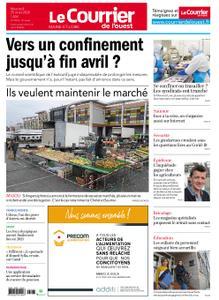 Le Courrier de l'Ouest Angers – 25 mars 2020