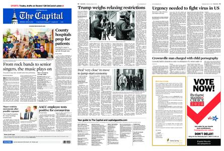 The Capital – March 25, 2020
