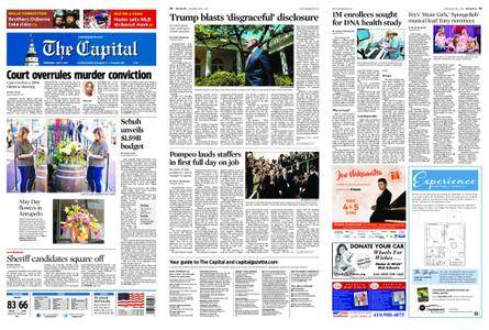 The Capital – May 02, 2018
