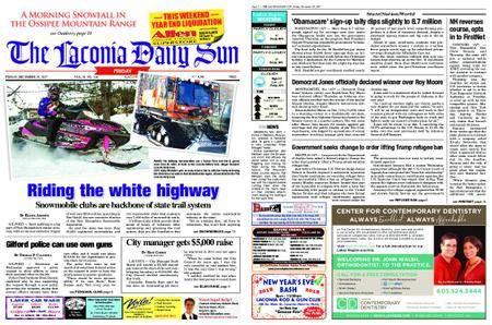 The Laconia Daily Sun – December 29, 2017