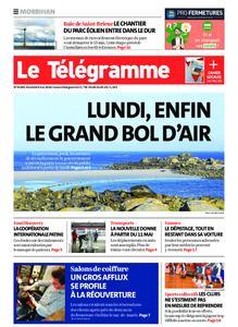 Le Télégramme Auray – 08 mai 2020