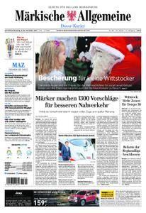 Märkische Allgemeine Dosse Kurier - 09. Dezember 2017