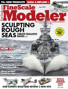 Fine Scale Modeler - April 2016