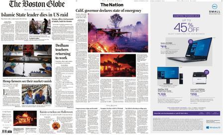 The Boston Globe – October 28, 2019