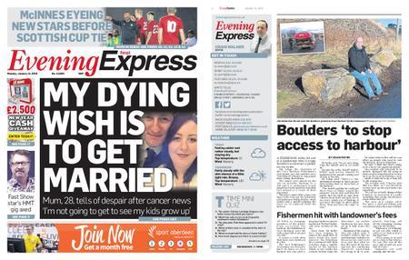 Evening Express – January 14, 2019
