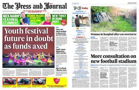 The Press and Journal Moray – November 18, 2017
