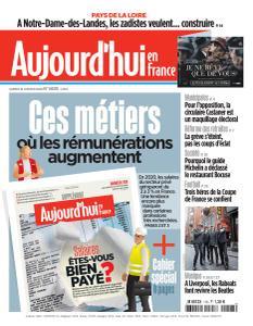 Aujourd'hui en France - 18 Janvier 2020
