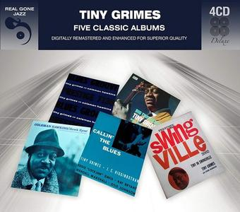 Tiny Grimes - Five Classic Albums (4CD) (2017)