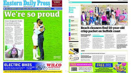 Eastern Daily Press – July 12, 2018