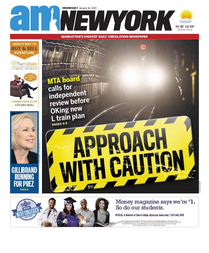 AM New York - January 16, 2019