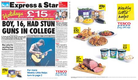 Express and Star Sandwell Edition – April 11, 2019