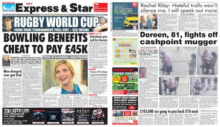 Express and Star City Edition – September 20, 2019