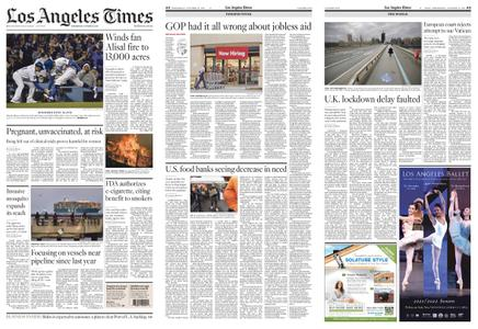 Los Angeles Times – October 13, 2021