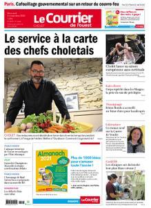 Le Courrier de l'Ouest Cholet – 04 novembre 2020