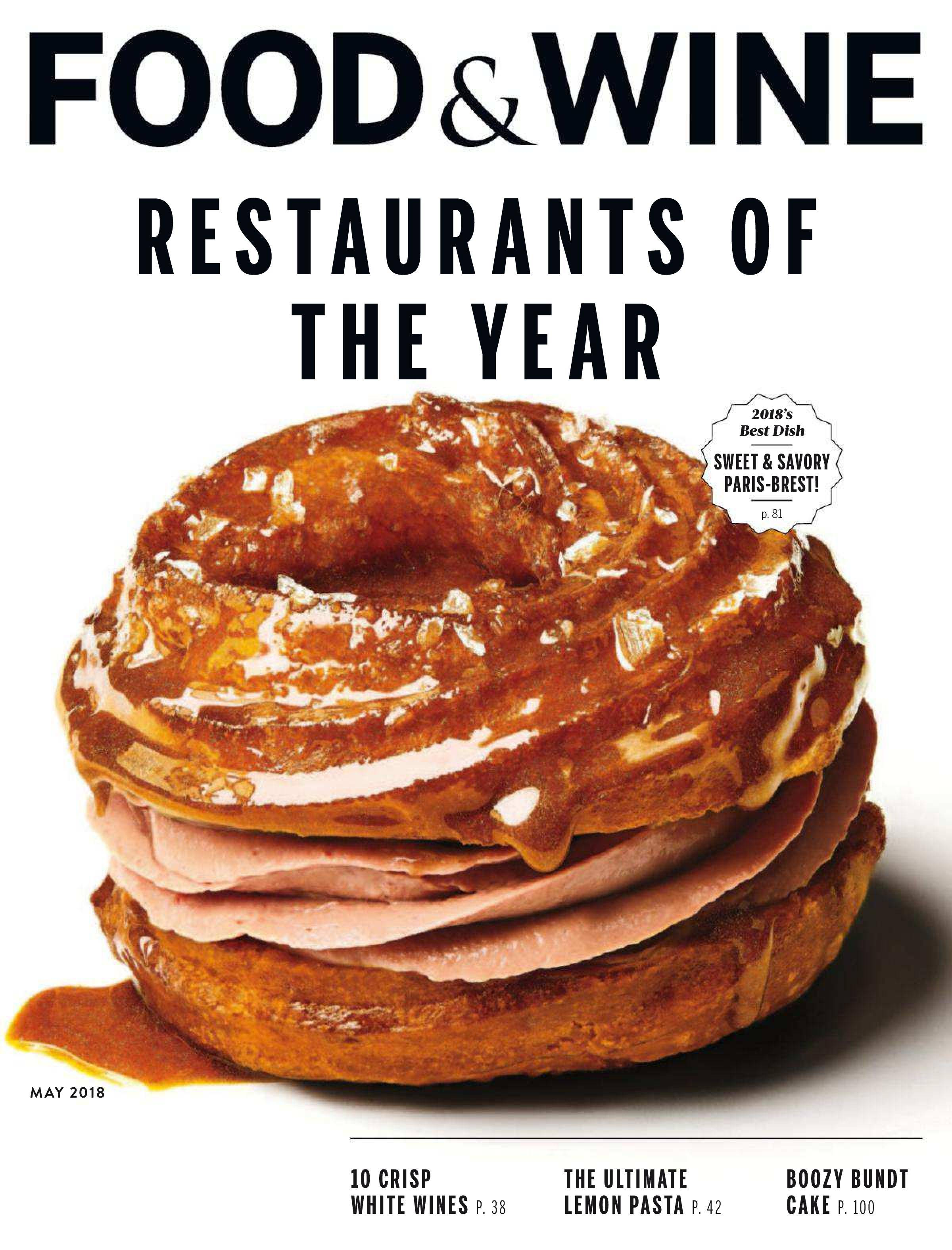 Food & Wine USA - May 2018