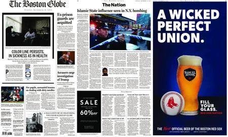 The Boston Globe – December 12, 2017