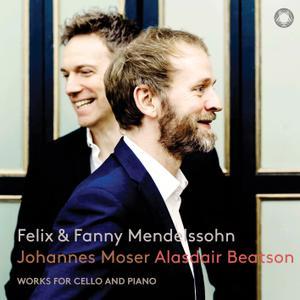 Alasdair Beatson & Johannes Moser - Mendelssohn & Mendelssohn-Hensel: Works for Cello & Piano (2019) [24/96]